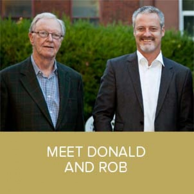 Don and Rob new photo with caption